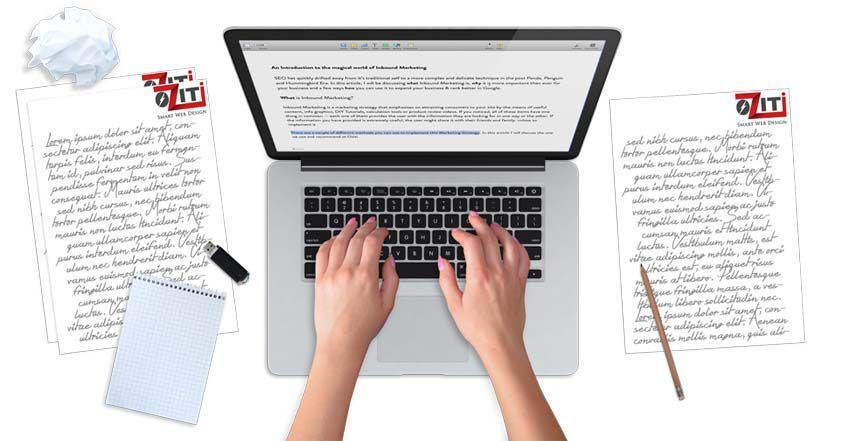 Dịch vụ xây dựng nội dung cho website mới lập