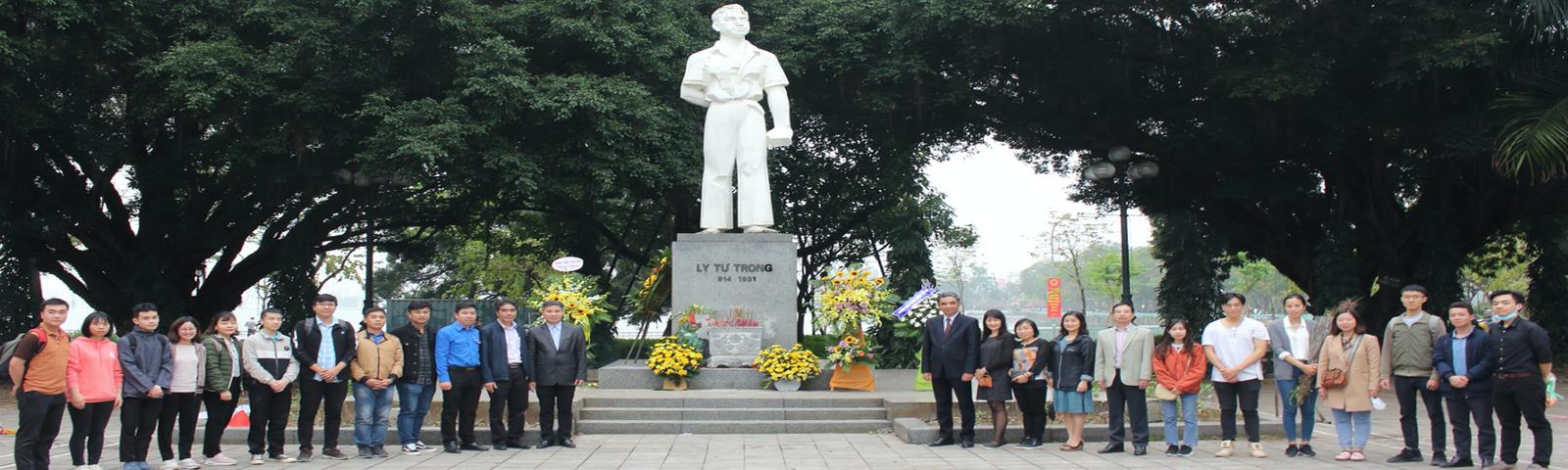 Chi Đoàn Viện Khoa học vật liệu tổ chức sinh hoạt chính trị nhân kỷ niệm 90 năm ngày thành lập Đoàn TNCS Hồ Chí Minh