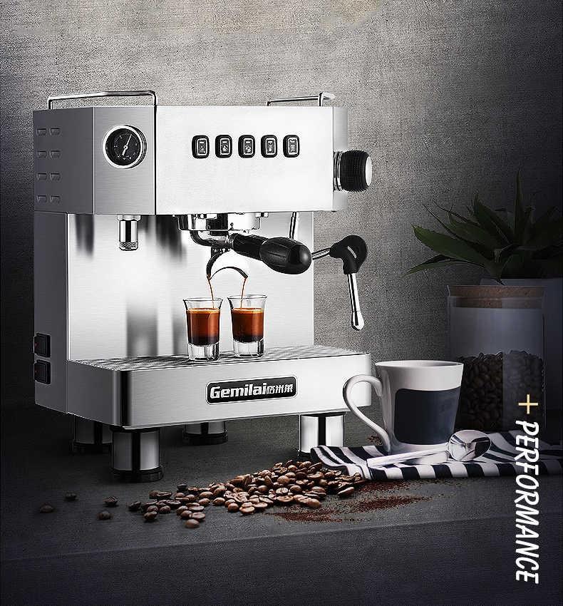 Máy pha cà phê GEMILAI CRM 3018