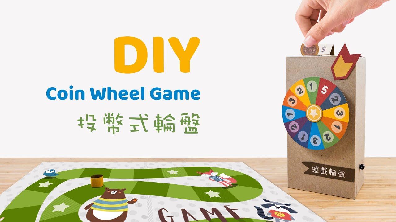 Chơi board game có thể học tiếng Trung ? DIY trò bánh xoay hoạt động bằng xu.