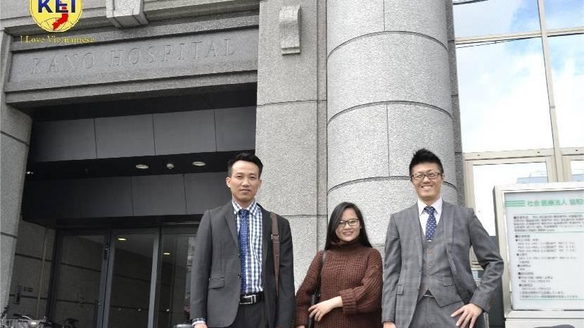 Giám đốc H2T Lê Thanh Tầm thăm và làm việc với viện Kano thuộc tập đoàn kyowakai.