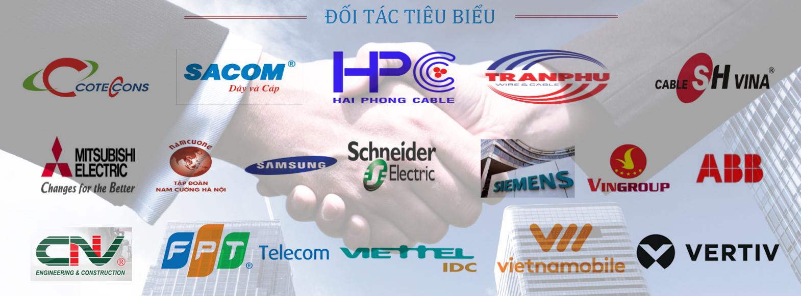 Các đối tác tiêu biểu của NP Việt Nam