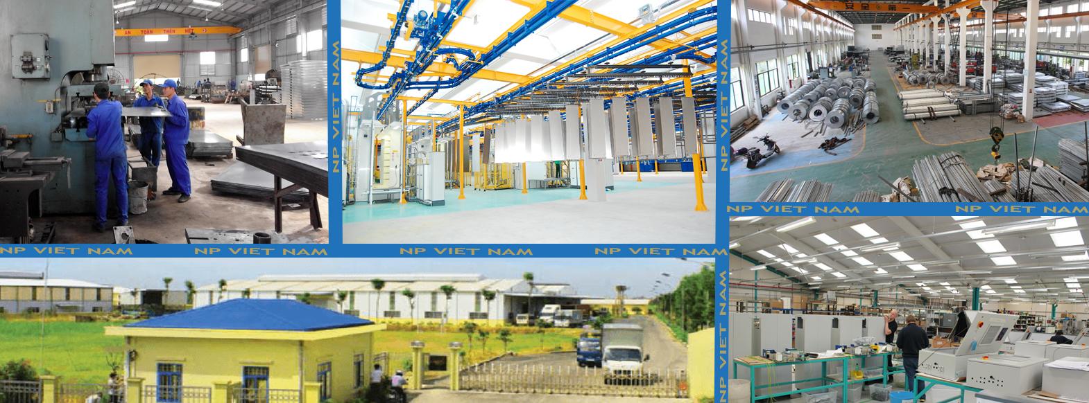 Nhà xưởng sản xuất NP Việt Nam