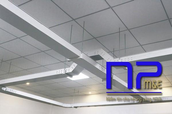 Máng cáp sơn tĩnh điện nên sử dụng trong nhà