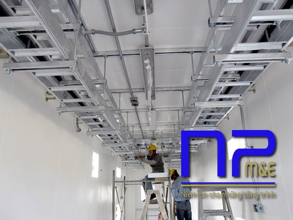 Bảng giá thang cáp và phụ kiện sơn tĩnh điện 2020