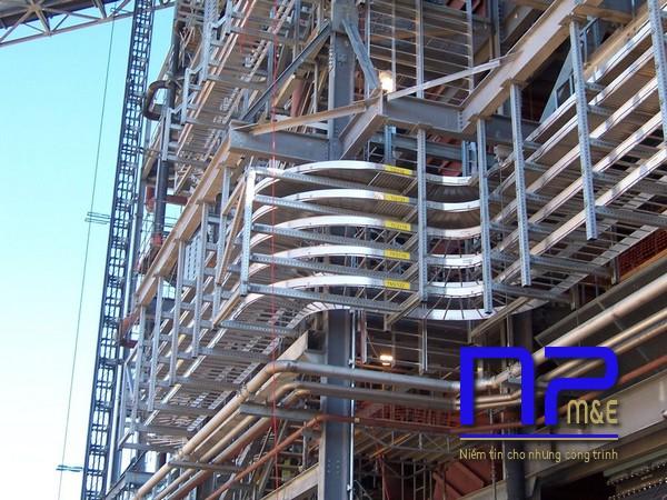 Cơ điện NP Việt Nam là nhà sản xuất và phân phối uy tín thang cáp điện
