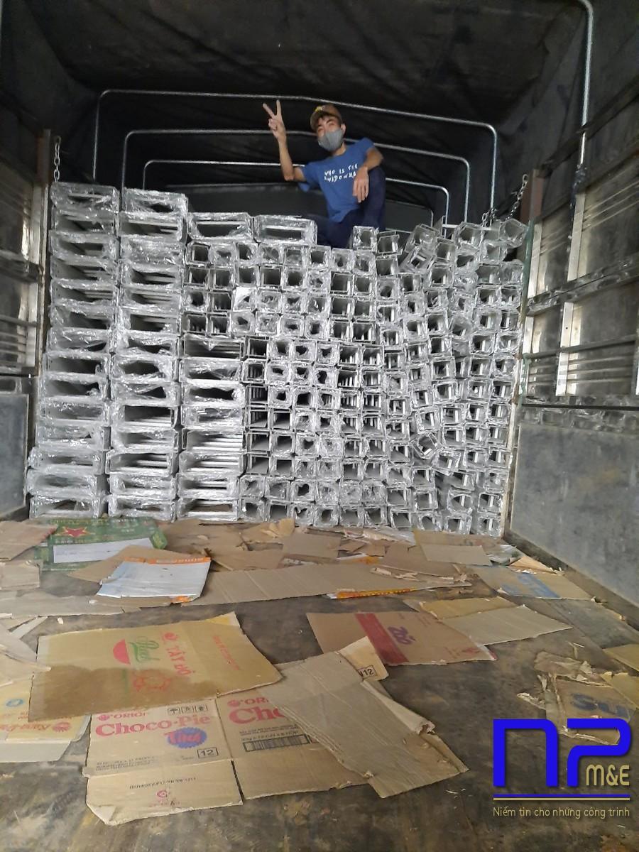 Đơn hàng thang cáp sơn tĩnh điện tại xưởng sơn NP Việt Nam6