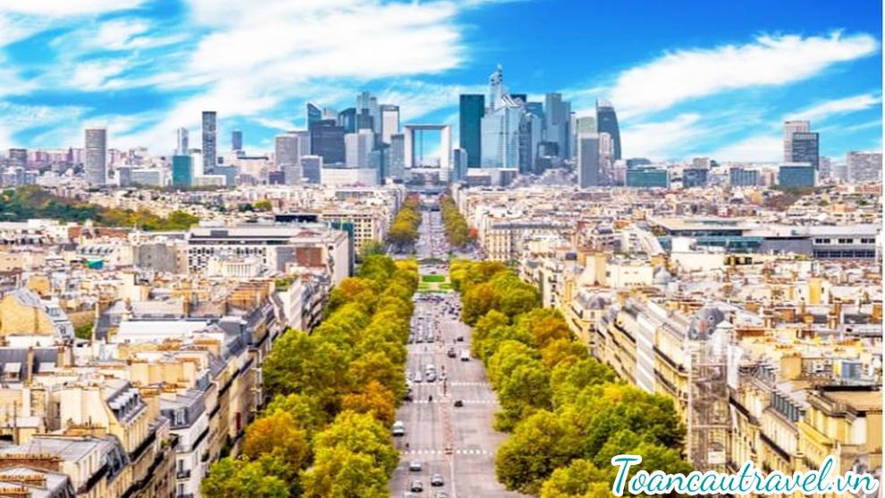 Avenue Des Champs-Élysées – đại lộ nổi tiếng nhất của thành phố Paris