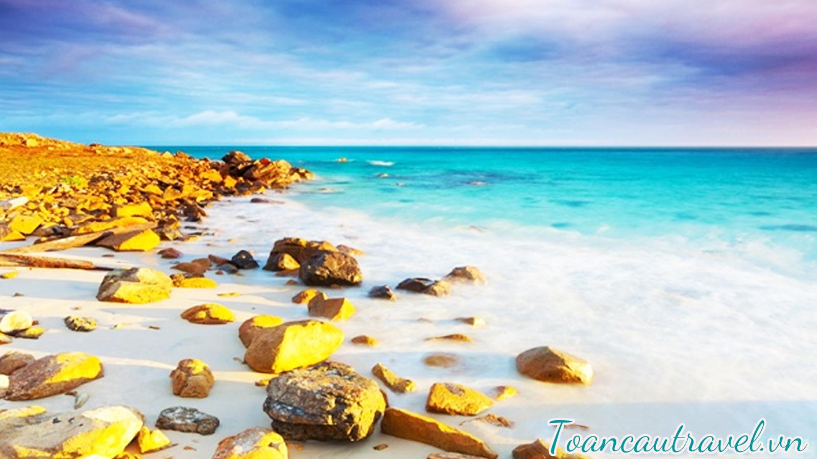 Vẻ đẹp của Côn Đảo đã được khen ngợi rất nhiều
