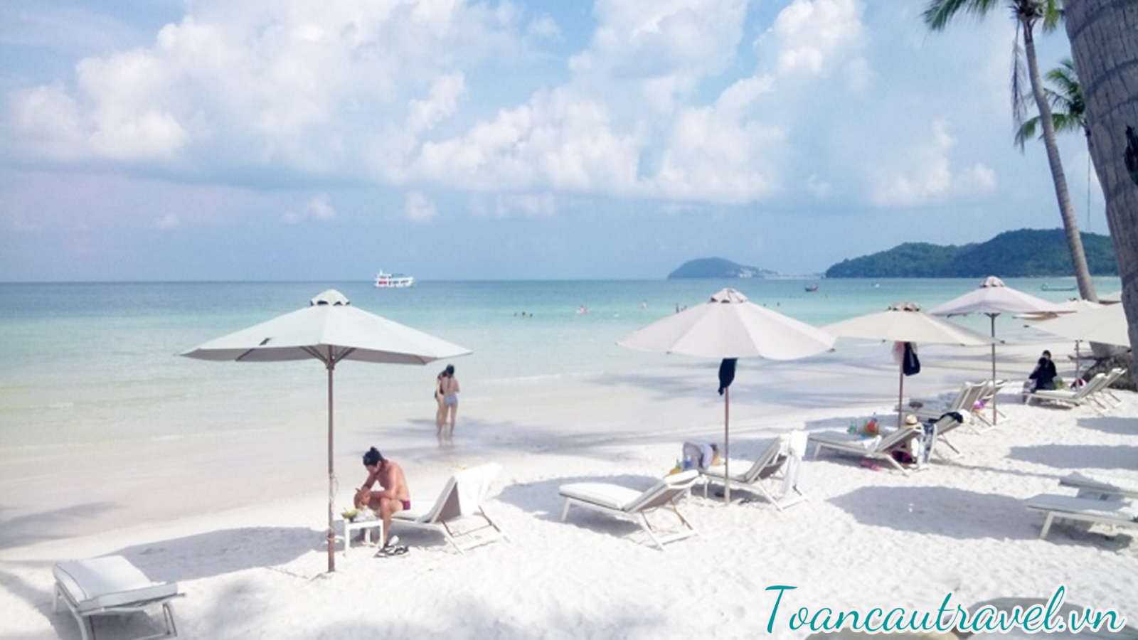một trong những bãi biễn đẹp nhất Việt Nam