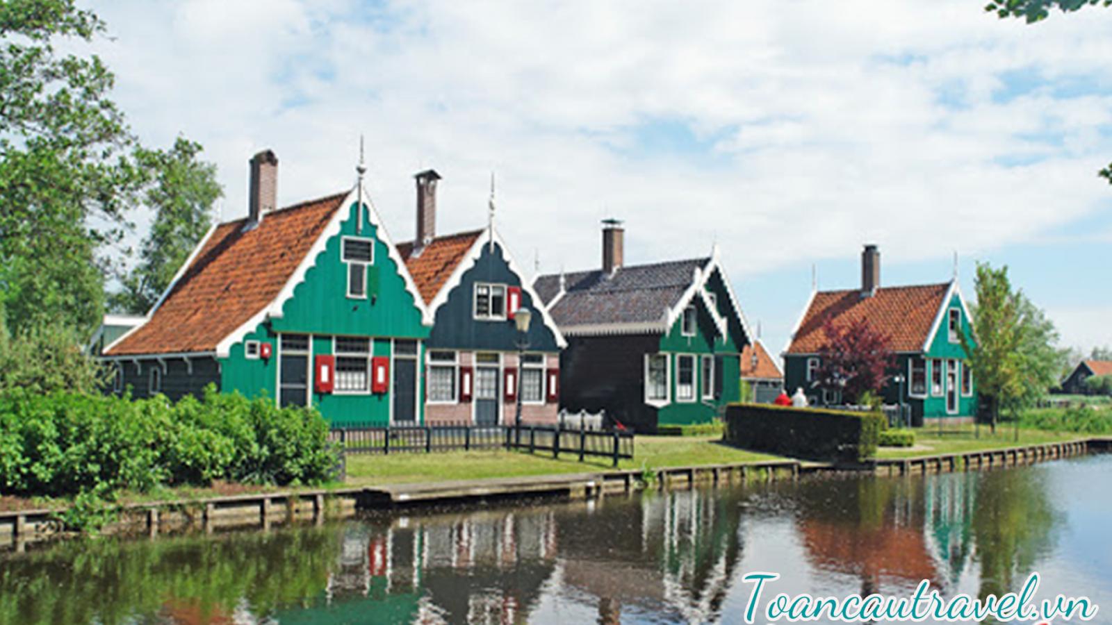 làng Zaanse Schans
