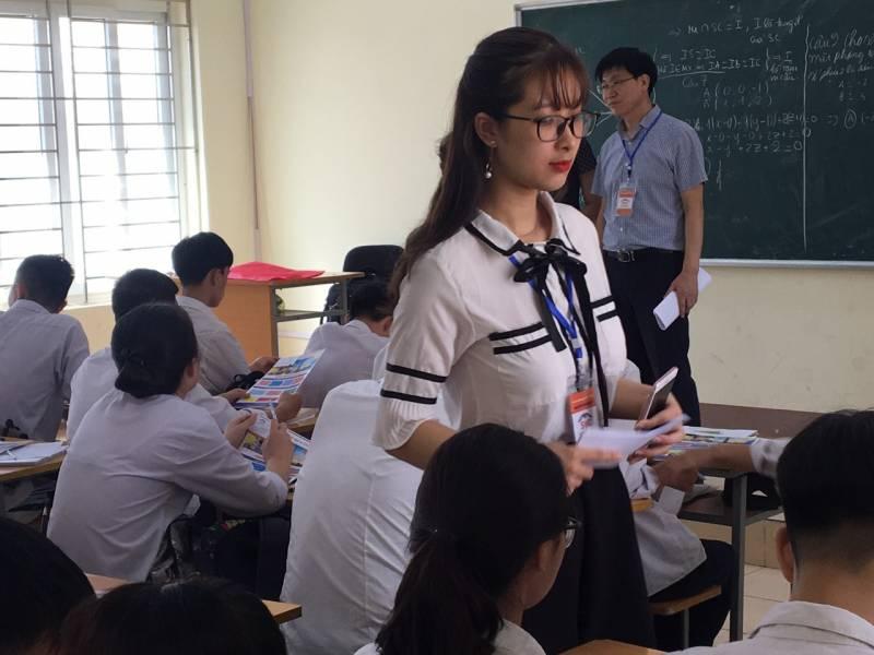 SVC tư vấn tuyển sinh tại THPT Ngô Quyền - Đông Anh Hà Nội