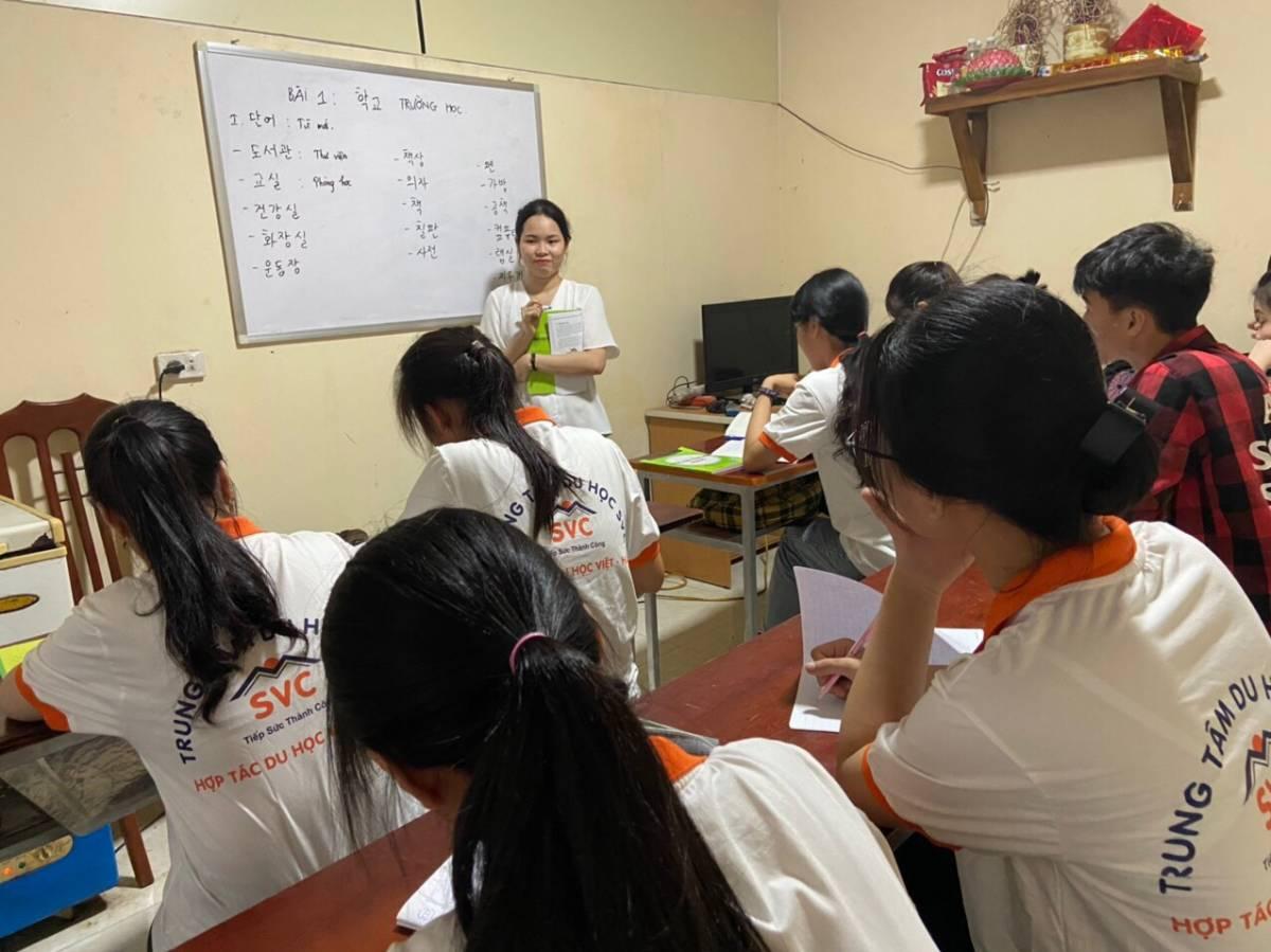 Khóa học miễn phí tiếng Hàn