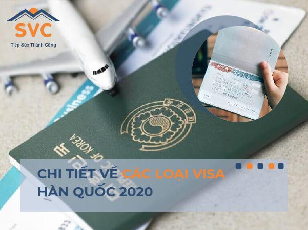 Chi tiết về các loại visa du học Hàn Quốc năm 2021