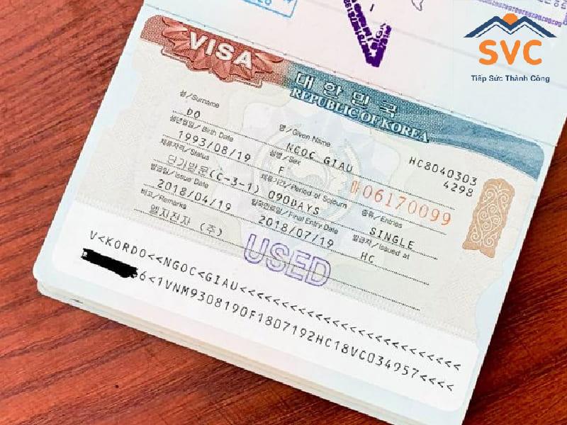 Các loại visa Hàn Quốc 2020