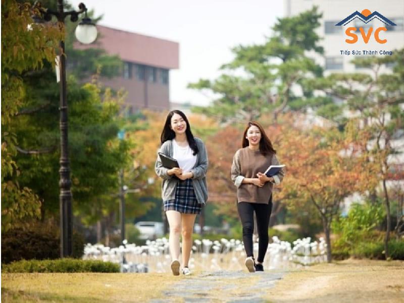 Tuyển sinh trường đại học Hanyeong