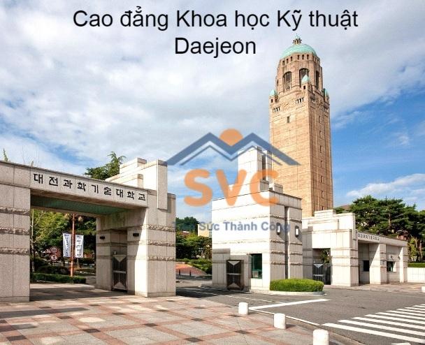 Cao đẳng Khoa học Kỹ thuật Daejeon - Trường Mã Code Hàng Đầu Daejeon