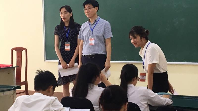 Buổi tư vấn tuyển sinh du học Nhật – Hàn tại trường PTTH Ngô Quyền – Đông Anh – Hà Nội