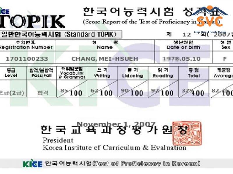 Chứng chỉ Topik tiếng Hàn là gì?