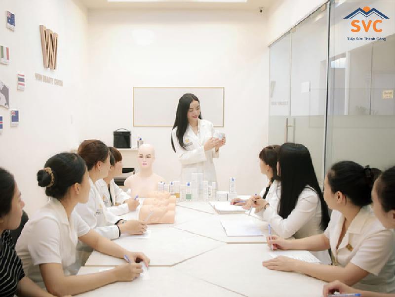 Chương trình đào tạo của ngành làm đẹp tại Hàn Quốc