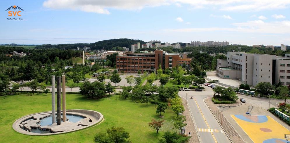 Tổng quan trường Đại học quốc gia Gangneung Wonju