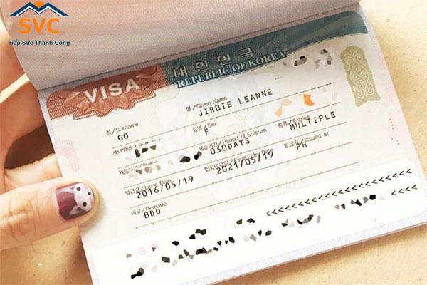 Những lưu ý khi làm hồ sơ xin visa Hàn Quốc