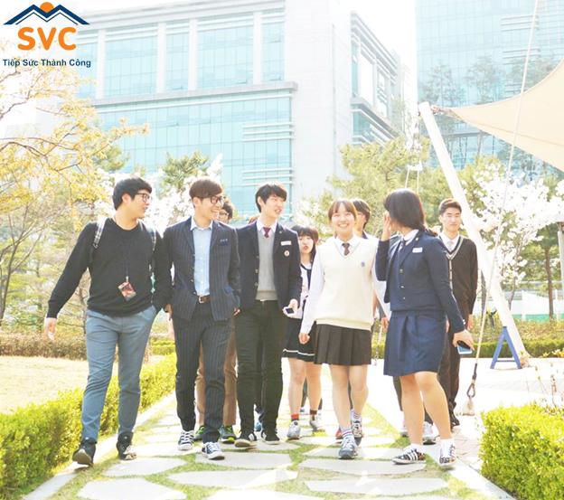Không chỉ có du học sinh Việt Nam mà cả những nước khác đều chọn nên đi du học nghề Hàn Quốc