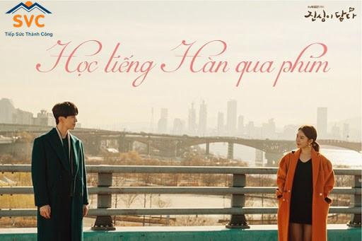 Kinh nghiệm Học tiếng Hàn qua phim ảnh cũng vô cùng quý báu