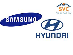 SamSung, Huyndai là những thương hiệu nổi tiếng đặt trụ sở tại Việt Nam