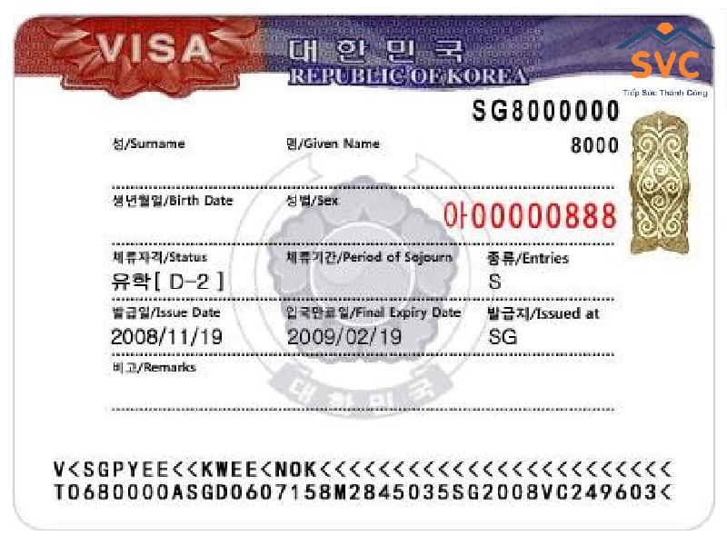 Visa D2 du học Hàn Quốc là gì?