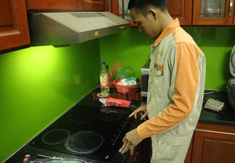Quy trìnhsửa chữa bếp điện từ Steba tại nhà