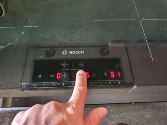 Cách bật tắt bếp từ bosch đúng cách khi sử dụng