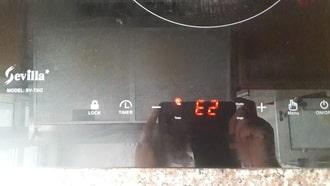 Bếp từ báo lỗi E2, Lý do và Cách Sửa lỗi E2 bếp từ tại nhà