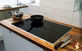 Bếp từ bosch ốn vùng nấu có kích thước lớn