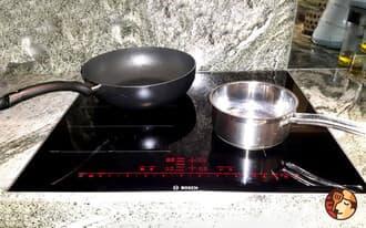 Hiện tượng bếp từ bosch đun nhưng không thấy nóng