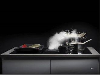 Bếp từ kết hợp với hút mùi thương hiệu bosch