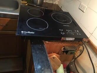 Sửalỗi e8 của bếp từ khi bếp bịlỗi không nấu