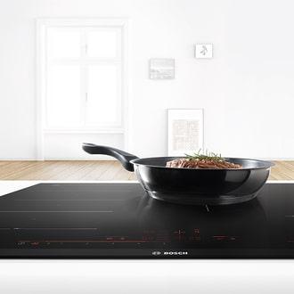 Nên chọn nồi chảo cho bếp bosch có kích thước vừa phải