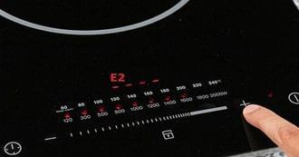 Cách sửa bếp từlỗi e2 trên màn hình bếp