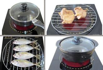 Nguyên lý nướng thực phẩm trên bếp hồng ngoại