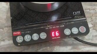 Cách sửa bếp từ, sửa bếp hồng ngoạilỗi e6
