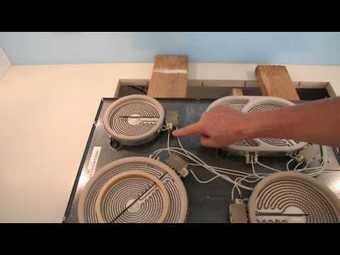 Sửa bếp từ Kangaroo mất nguồn do đứt dây