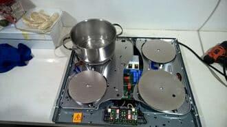 Quy trình kiểm tra sửa bếp từ kaff chuẩn kỹ thuật