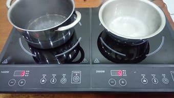 Sửa bếp điện từ đôi Cata ở chung cư times city