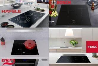 Thiết kế bếp từ bosch giống và khác bếp hafele