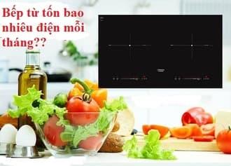 Tìm hiểu công suất và tiền điện của bếp từ hàng tháng