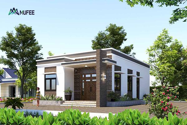 Chia sẻ những mẫu nhà mái bằng đẹp được ưa chuộng nhất 2021