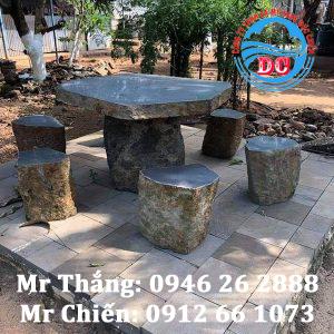 Bàn ghế đá - Mẫu bàn ghế đá giá rẻ, cao cấp tại Ninh Bình