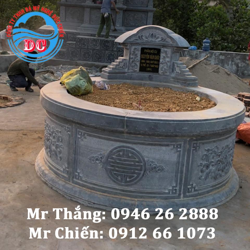 Mẫu mộ tròn đẹp mã MTĐC001