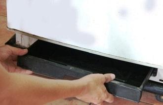 Cam kết khắc phục dứt điểm sự cố chảy nước tủ lạnh